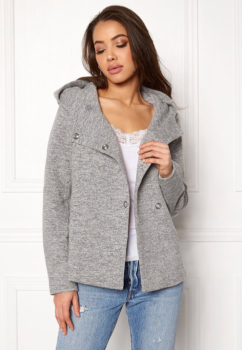https://www.bubbleroom.se/sv/kl%C3%A4der/kvinna/only/kappor/fairy-mel-hooded-short-jacket-light-grey-melange